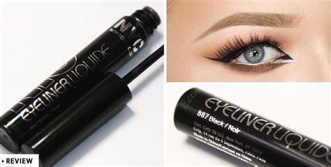 review nyc liquid eyeliner in black nikkietutorials