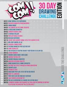 comcom 30 day drawing challenge edition by