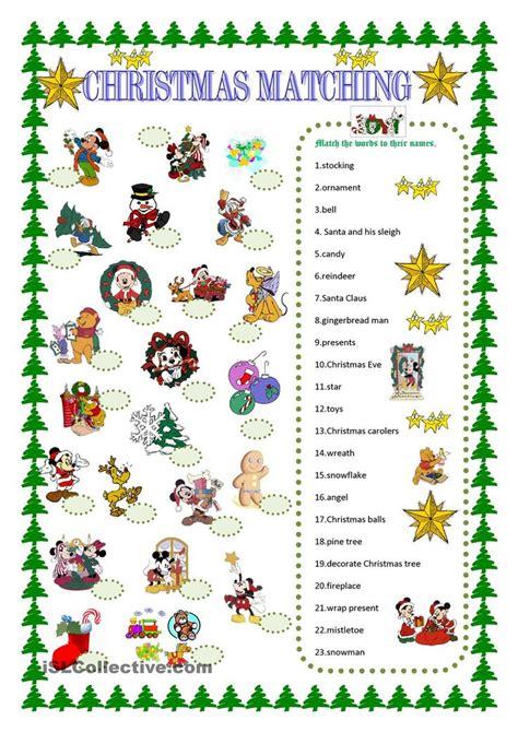english printable worksheets christmas 28 best christmas images on pinterest education english