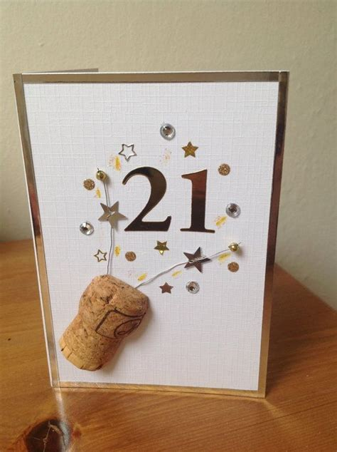 Handmade 21st Birthday Cards - 25 best ideas about 21st birthday cards on 21