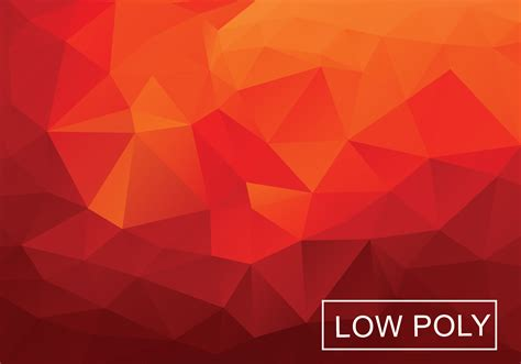 orange black polygonal mosaic background vector warm red polygonal background vector download free