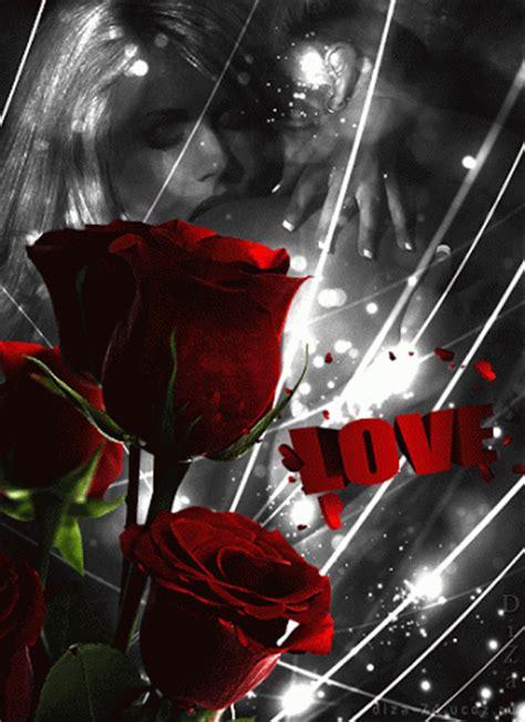 imagenes gif rosas rojas imagenes gif de parejas en blanco y negro con rosas rojas