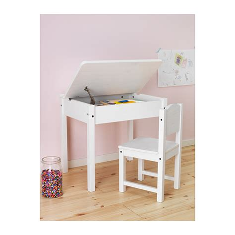 childrens desks white sundvik children s desk white 58x45 cm ikea