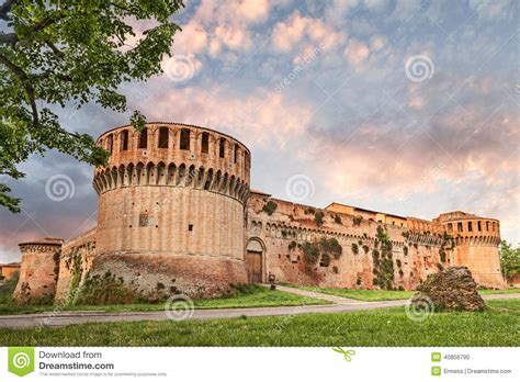 d imola forteresse d imola photo stock image 40856790