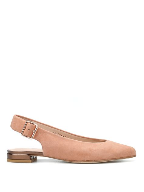 Sepatu Boots Stuart Weitzman heidi slingback flat shoes by stuart weitzman flat shoes