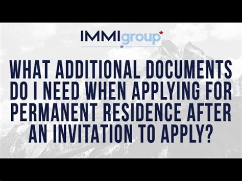 Documents Needed To Apply For Permanent Residency In Usa