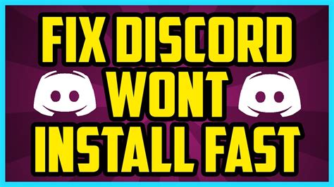 discord wont detect mic discord wont install fix in 1 minute how to fix discord