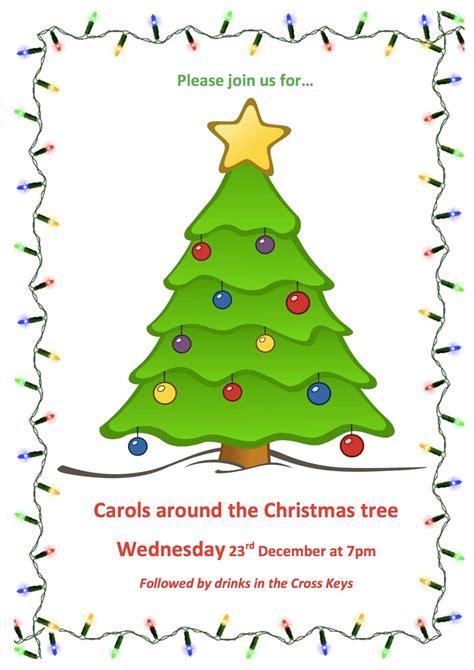 esh village county durham carols around the christmas tree
