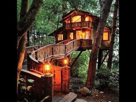 really cool tree houses 100 cool ideas tree house youtube