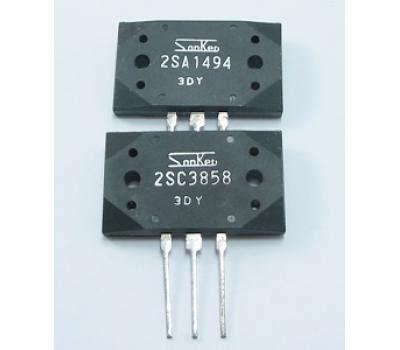 transistor sanken 2sc3858 sanken 2sa1494 2sc3858 pair to3p transistor analog metric diy audio kit developer
