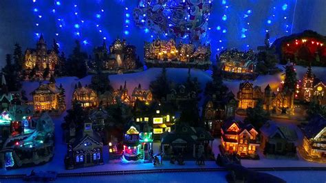 christmas village backgrounds wallpaper cave