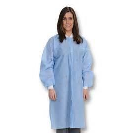 Ceil Blue Lab Coat by Easy Breathe Lab Coats Ceil Blue Large 10 Pk Light