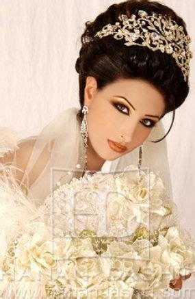 Arabic Wedding Hairstyles 2013 by 420 Best Arabic Bridal Hair And Makeup Images On