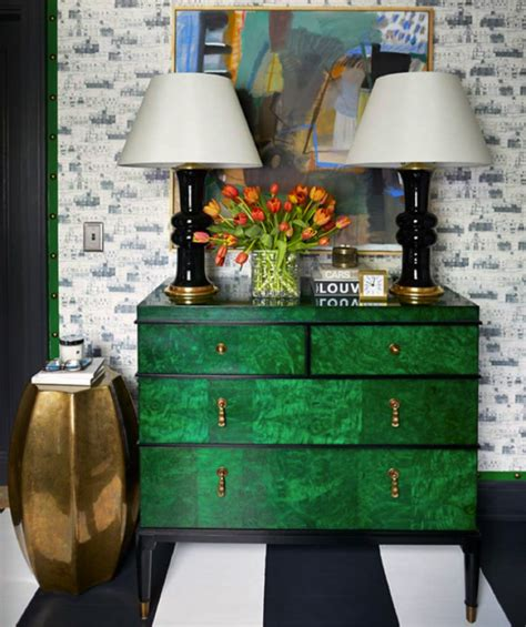 Green Buffets And Cabinets For This Spring Home Decor Ideas Green Buffet Furniture