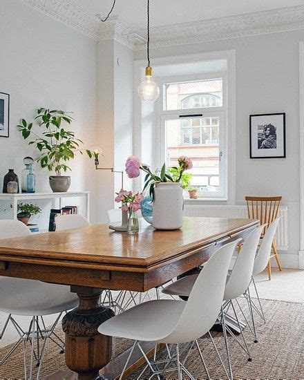 antique table with modern chairs best 25 oak table and chairs ideas on
