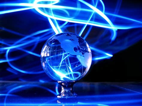 Soul Amp Strange Glass Earth Globe Led Photo Art Electric Lights