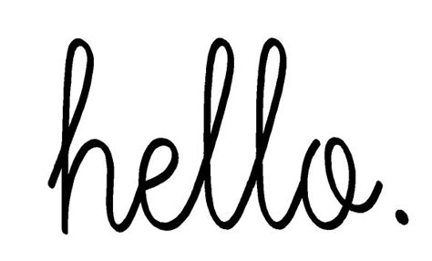Hello Door Decal by Hello Front Door Vinyl Decal Sticker By Vinylprints On Etsy