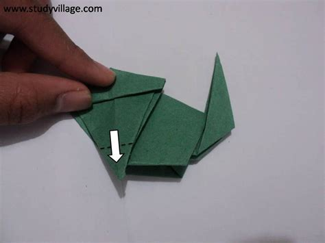 how to make paper monkey step 11
