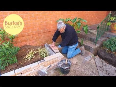 bourkes backyard download video burke s backyard fake stone garden edging