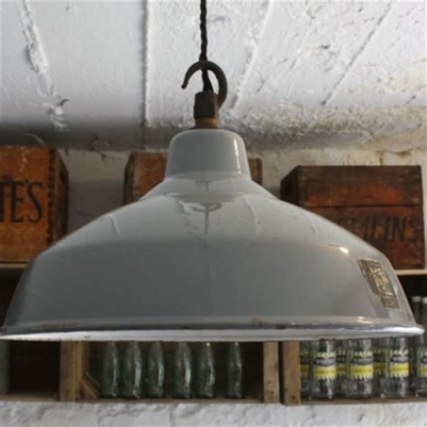 Industrial Style Loft Vintage Grey Enamel Industrial Pendant Light Lovely And