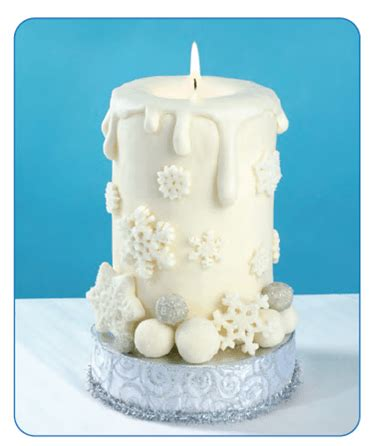 candle cake edible crafts