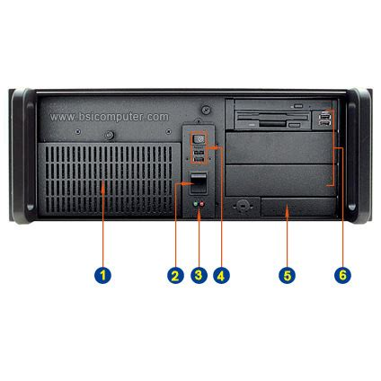 Rack Mounted Computer by Rms403 4u 20 Quot Depth Rack Mount Computer Bsicomputer