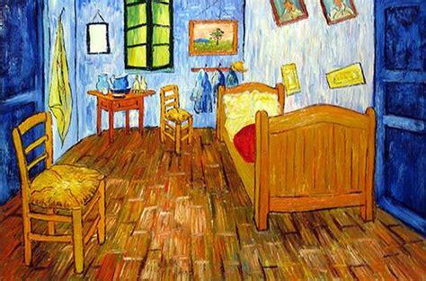 the bedroom van gogh painting arles room van gogh oil painting