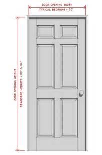 standard door width hometuitionkajang