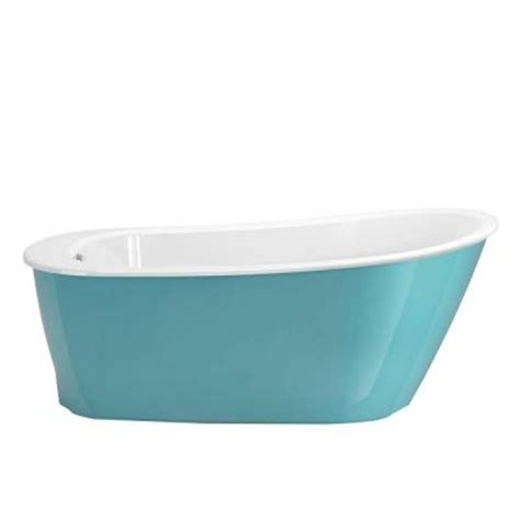 maax sax bathtub maax sax 5 ft freestanding reversible drain bathtub in