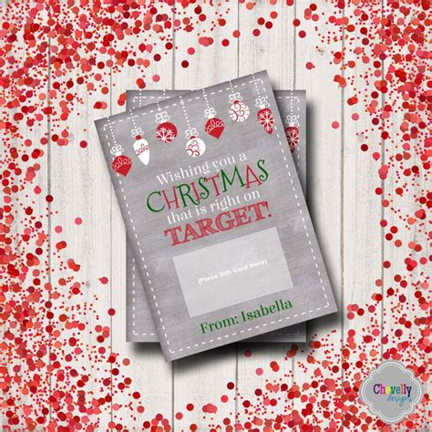 target christmas gift card printable xmas006 holiday