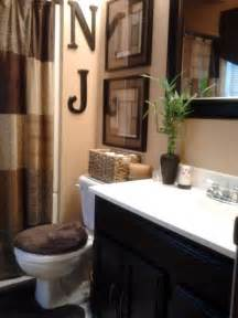 ideas to decorate a bathroom warm color palette colour