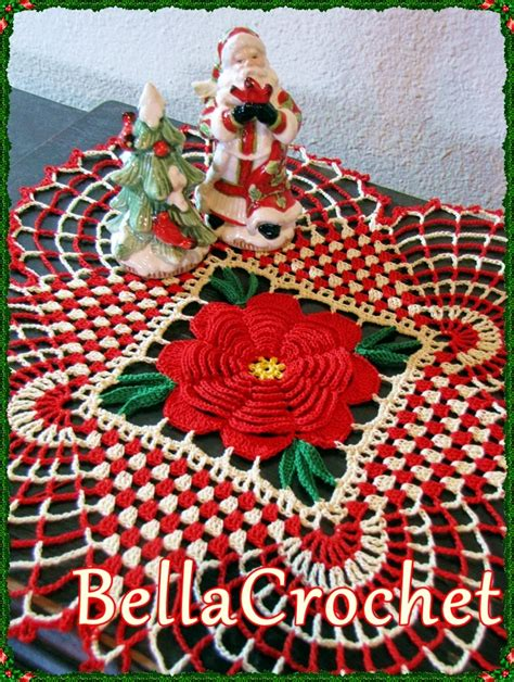 best freecrochets christmas bellacrochet country doily a free crochet pattern for you