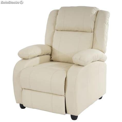 sillon reclinable galeria del coleccionista sill 243 n relax reclinable lincon en color crema
