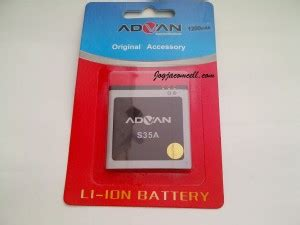 Baterai Advan S35a baterai advan s35a original jogjacomcell toko