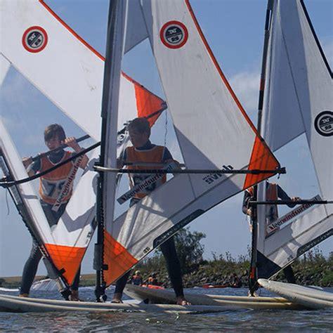 voorrang roeiboot zeilboot windsurf voorrangsregels leerwindsurfen