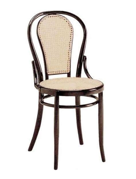 sedia viennese sedia viennese in legno con sedile e schienale in paglia