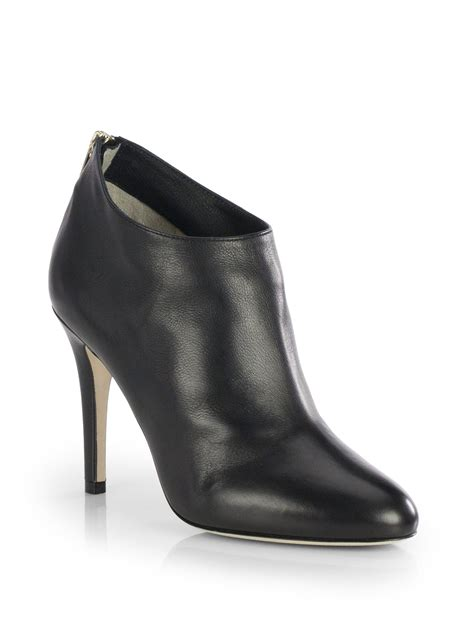 10 Jimmy Choo Boots by Lyst Jimmy Choo Mendez Leather Booties In Black