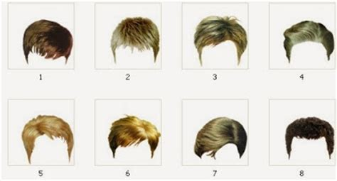 male hair templates for photoshop games for pc boy and girl hair png file