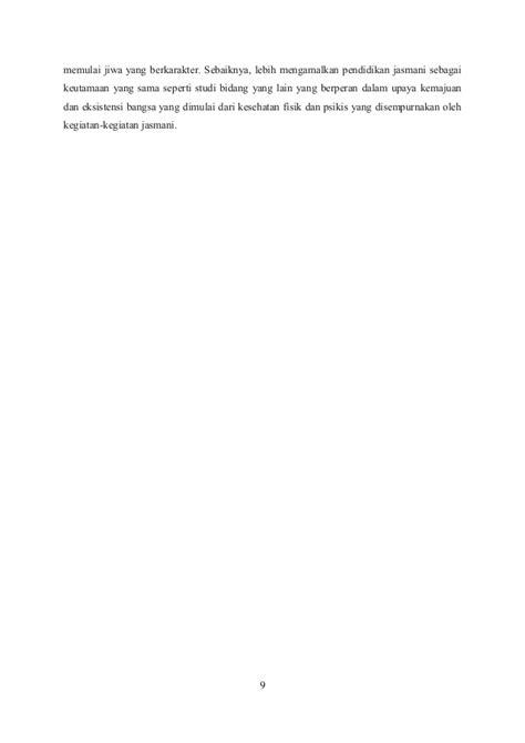Pend Jasmani Olahraga Kesehatan Smp Klsviiik20130036130050 peran pendidikan jasmani sebagai pembentuk karakter dan