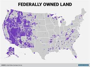 Is Owned By Federal Government Land Map Business Insider