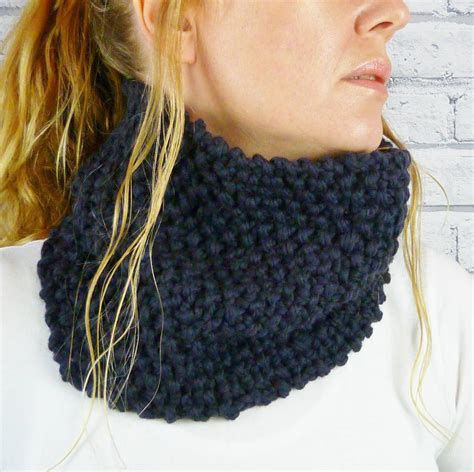 chunky knit cowl chunky knit merino cowl by moaning minnie