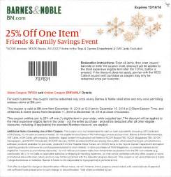barnes and noble promo code 2015 barnes and noble coupons february 2015