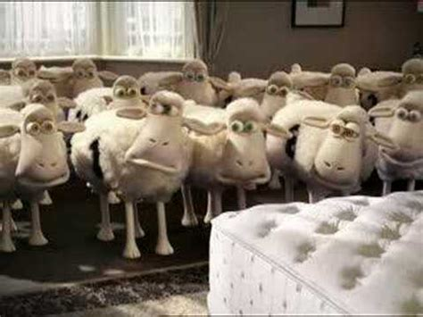 Sheep Mattress Commercial by Serta Sheep Delivery Tv Ad New