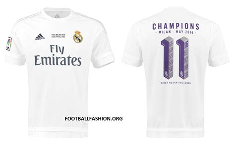 Jersey Home Real Madrid 2016 real madrid 2016 uefa chions league adidas winners