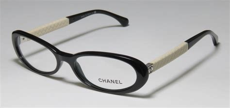 s chanel 3227q 501 oval eyeglasses with plastic