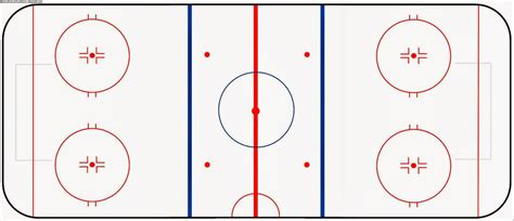 hockey rink diagrams pin basic hockey rink diagram on