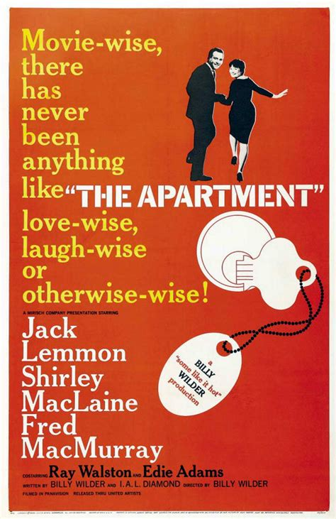 the apartment avengers in time 1960 film the apartment