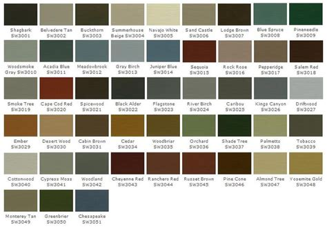sherwin williams woodscapes house exteriors stains paint colors and colors