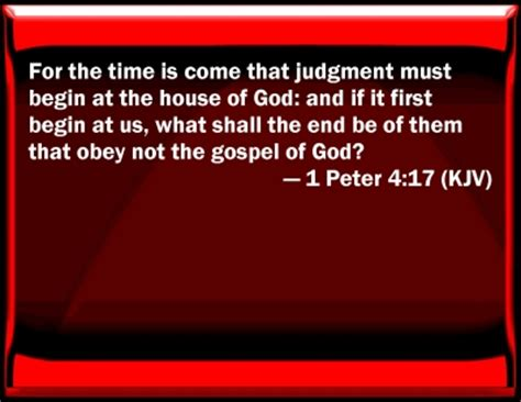 judgement begins at the house of god judgement begins at the house of god 28 images