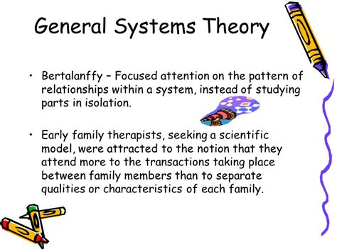 general pattern theory family therapy any psychotherapeutic treatment of the